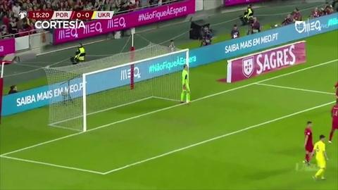 Portugal se estrella ante Ucrania en la vuelta de Cristiano Ronaldo