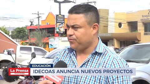 IDECOAS anuncia nuevos proyectos en eduación