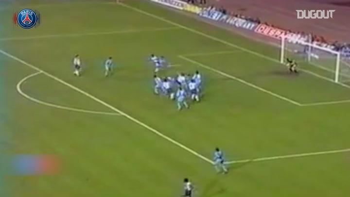 European Nights: Napoli Vs PSG in 1992