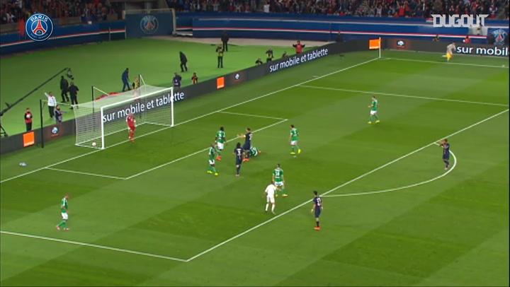 Zlatan Ibrahimović's incredible hat-trick vs Saint-Etienne