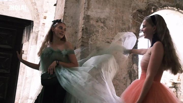 En ¡HOLA!, Sofía e Ildiko de Habsburgo debutan como modelos