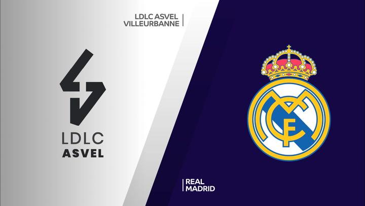 Resumen del LDLC ASVEL Villeurbanne - Real Madrid de Euroliga