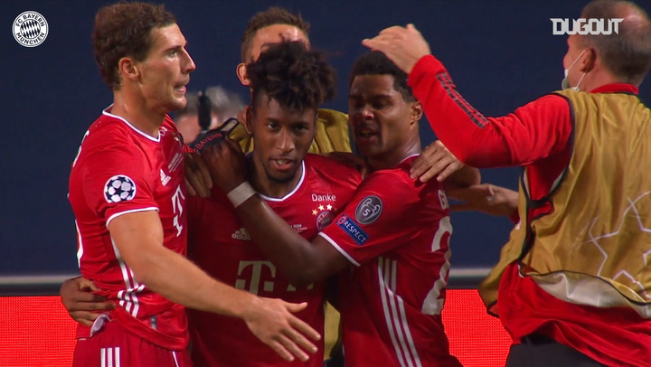 Kingsley Coman looks back at his Champions League final heroics