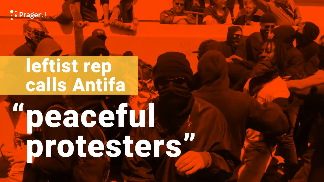 Leftist Rep Calls Antifa