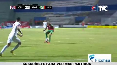 Video: La increíble oportunidad que desperdició Kervin Arriaga en el Olimpia - Marathón