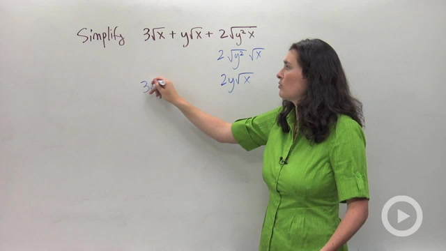 Adding and Subtracting Radical Expressions - Problem 4