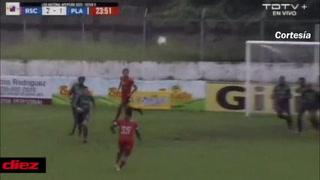 Yeer Gutiérrez se despacha un golazo y Real Sociedad esta derrotando al Platense
