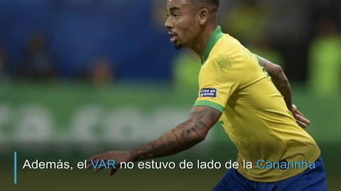 Venezuela y el VAR frenan al favorito Brasil en la Copa América