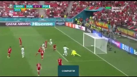 El doblete de Cristiano Ronaldo ante Hungría