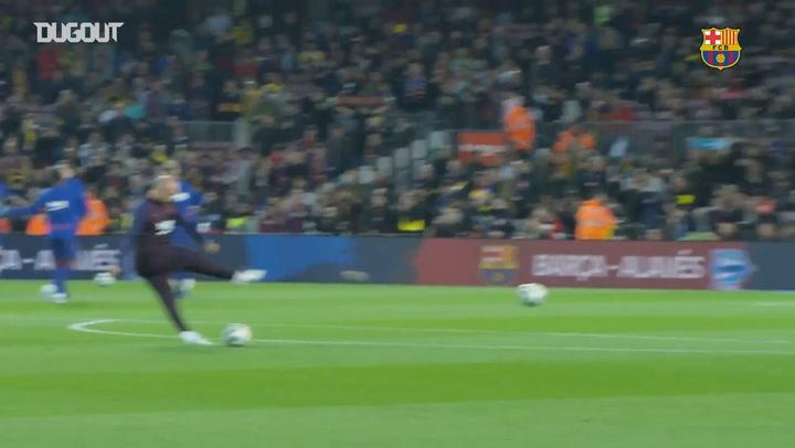 Best Barça warm-up saves