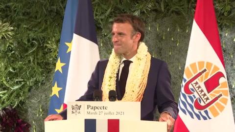 Francia reconoce que está en deuda con la Polinesia francesa por pruebas nucleares