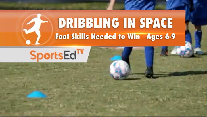 DRIBBLING IN SPACE - Foot Skills You Need To Win