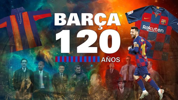 El Barça celebra su 120º Aniversario