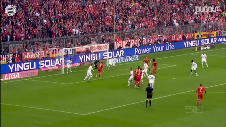 Incredible Goals: Javi Martínez' First Goal For Bayern