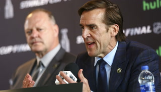 George McPhee talks about the Stanley Cup final