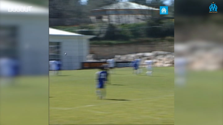 Nagatomo's goal vs Marseille in 2007