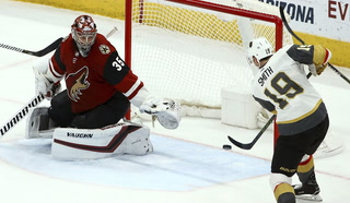 Golden Edge: Knights Win Big Against Coyotes