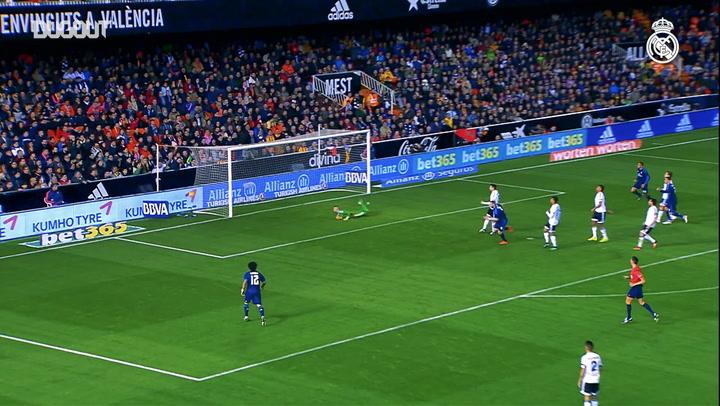 Incredible Goals: Karim Benzema Vs Valencia