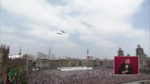 La Guardia Nacional abre el desfile militar por independencia de México