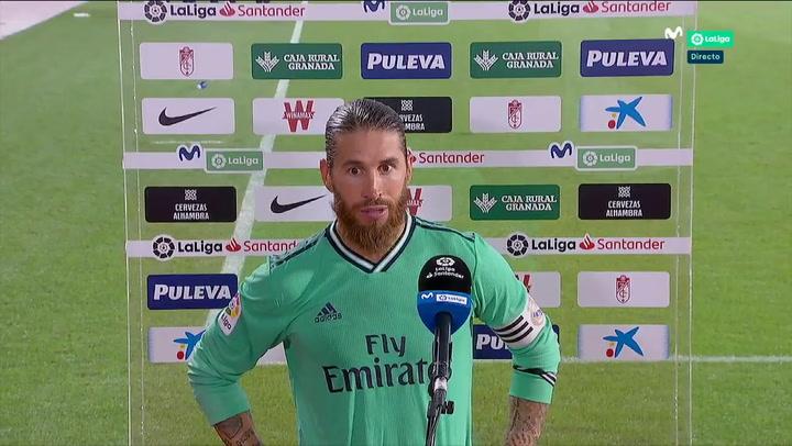 """Sergio Ramos: """"Estamos muy cerca pero no hay que relajarse"""""""