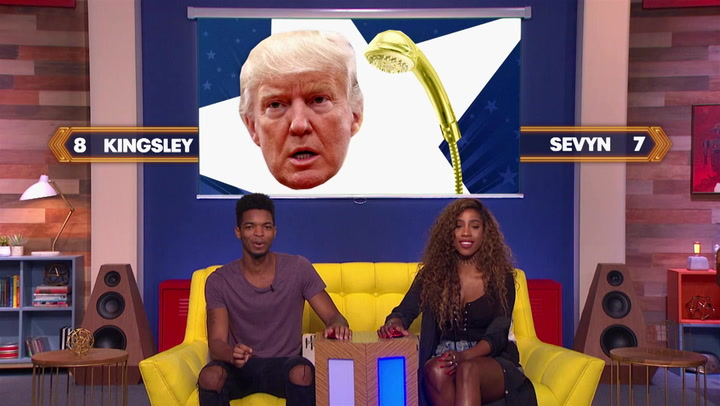 Kingsley and Sevyn Streeter Prove Who's the Champion in Photo Recall Round: Trivial Takedown Sneak Peek