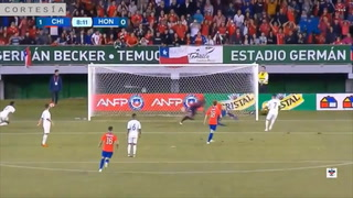 Chile se pone a ganar ante la selección hondureña