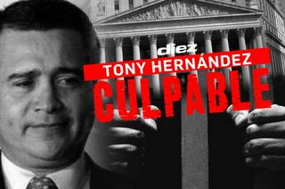 Tony Hernández es declarado culpable en una corte de Nueva York, Estados Unidos