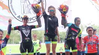 Angie Gómez es la ganadora de la categoría Élite Femenina