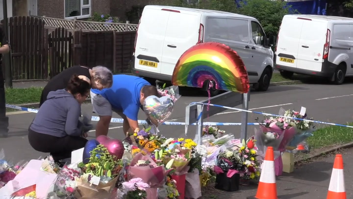 Floral tributes laid to victims of Killamarsh attack