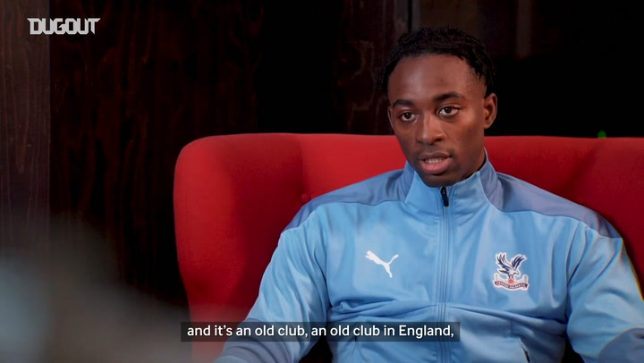 Jean-Philippe Mateta's first Palace interview