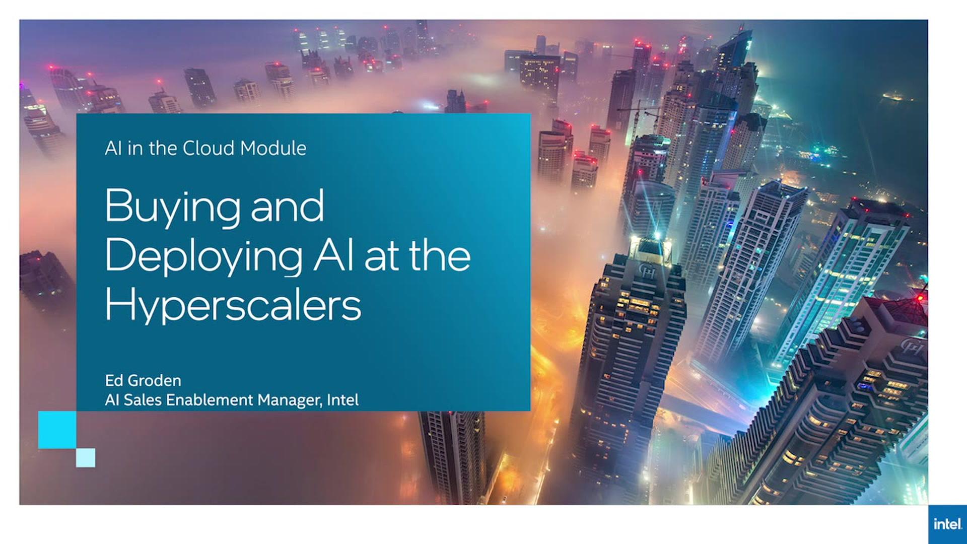 Chapter 1: AI Cloud Deployment Options