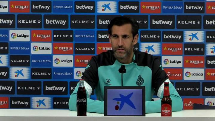Rueda de prensa de Diego López (Espanyol) sobre la próxima visita al Lugo