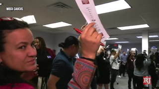 Caucus 101: Early voting in the Nevada Democratic caucus – VIDEO