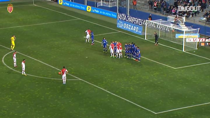 Free-Kicks: James Rodríguez Vs FC Bastia