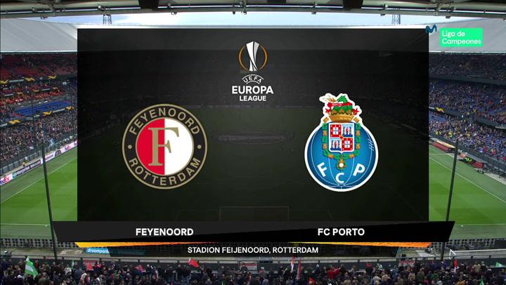 Europa League: Resumen y Goles del Partido Feyenoord-Porto