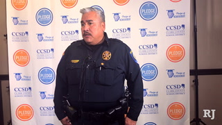 CCSD Police Department addresses guns confiscated at schools