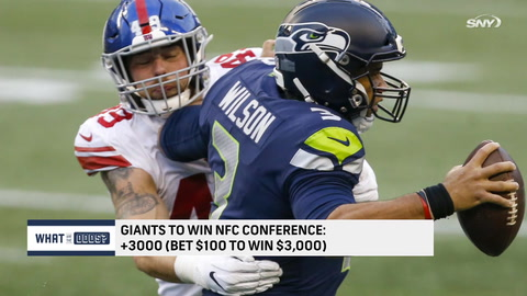 What are the odds the Giants win the NFC Championship?