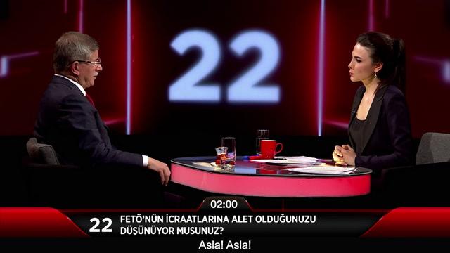 Jülide Ateş ile 40 - Ahmet Davutoğlu Fetö'nün icraatlarına alet olduğunu düşünüyor mu?