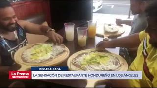 Megabaleada hondureña causa locura en Los Ángeles, Estados Unidos