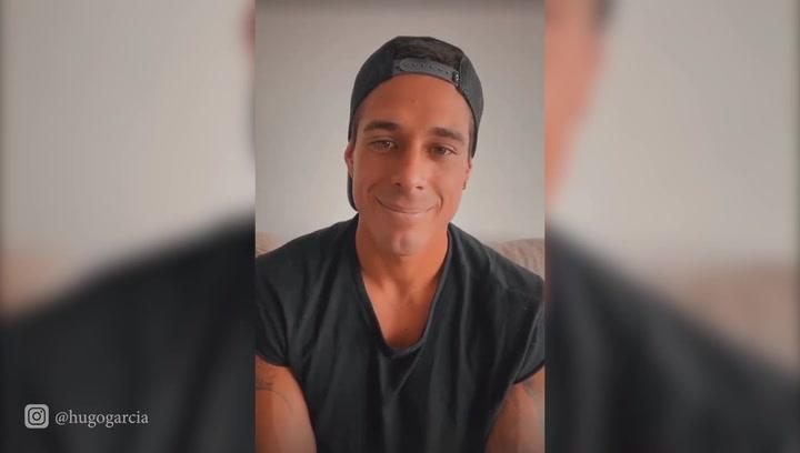 Hugo García reaparece en sus redes sociales y aclara rumores sobre su estado de salud