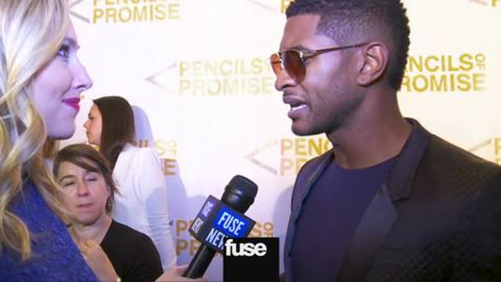 Interviews: Usher interview 10/26/12