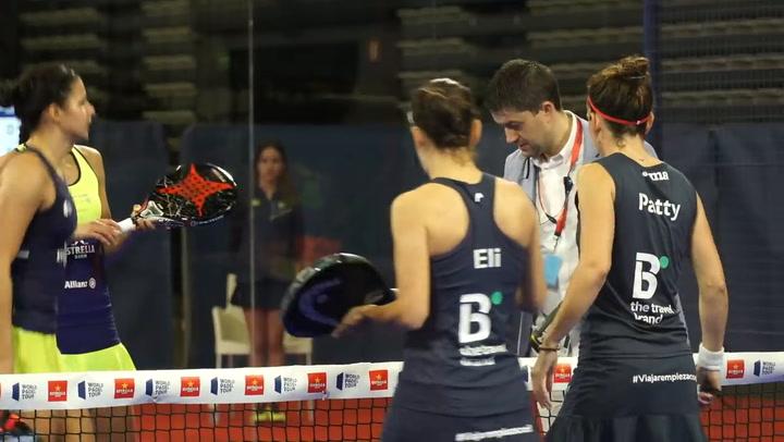 Resumen Cuartos de Final Femeninos (primer turno) Vigo Open