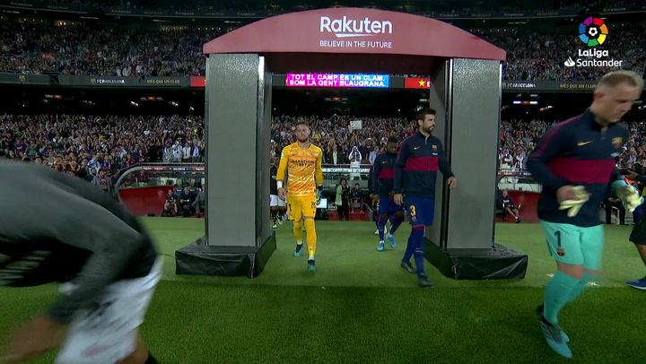 LaLiga (J8): Resumen y goles del Barcelona 4-0 Sevilla