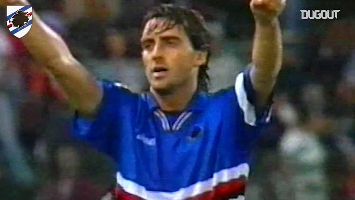 Sampdoria's top three goals at Roma