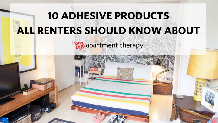 13 Temporary Removable Adhesive Products All Ers Should Know About Apartment Therapy