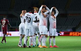AC Milan propina paliza de escándalo en Italia, Ante Rebic marcó harttrick