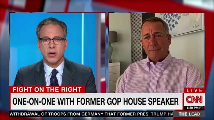 Boehner: Trump 'Abused the Loyalty and Trust' of His Voters -- 'No Evidence' Election Was Stolen