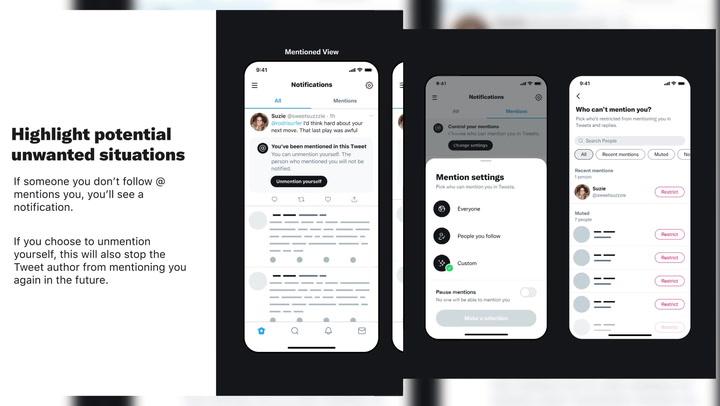 Twitter quiere que sus usuarios puedan 'desetiquetarse'