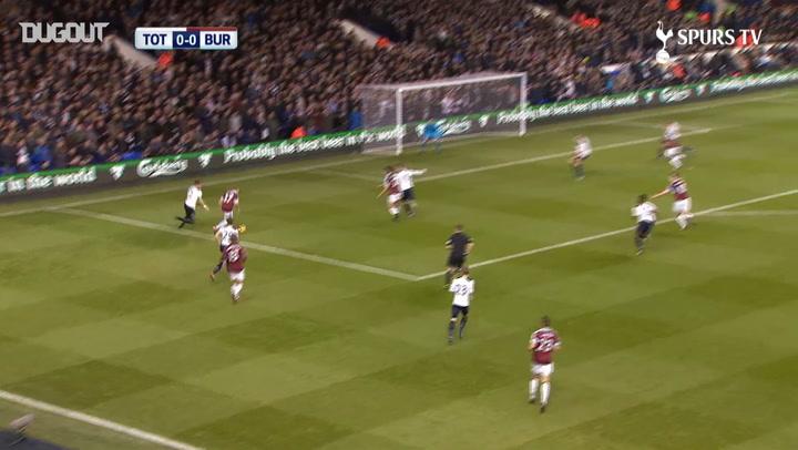 Spurs earn three points vs Burnley