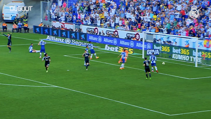 Marcelo's left-footed strike against Espanyol